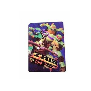 Teenage Mutant Ninja Turtles Plush Blanket Throw,